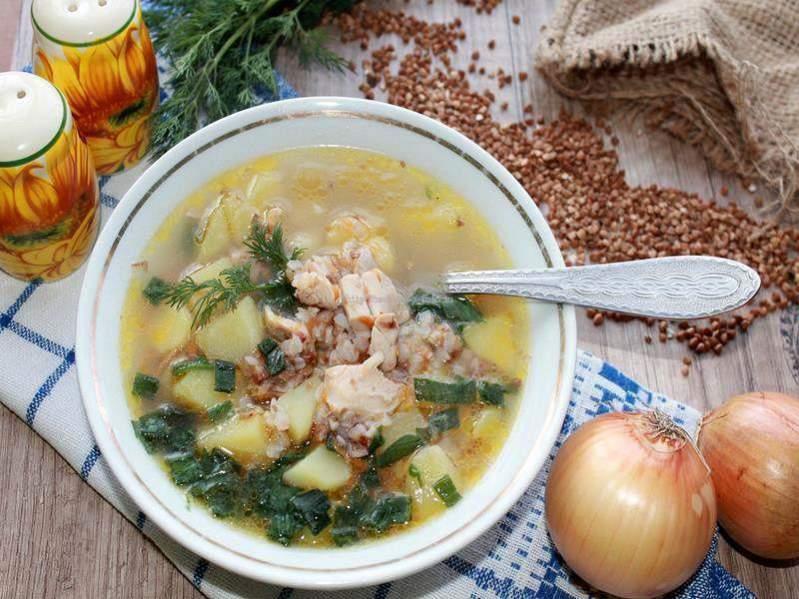 Суп с гречкой и курицей «Шахтерский»