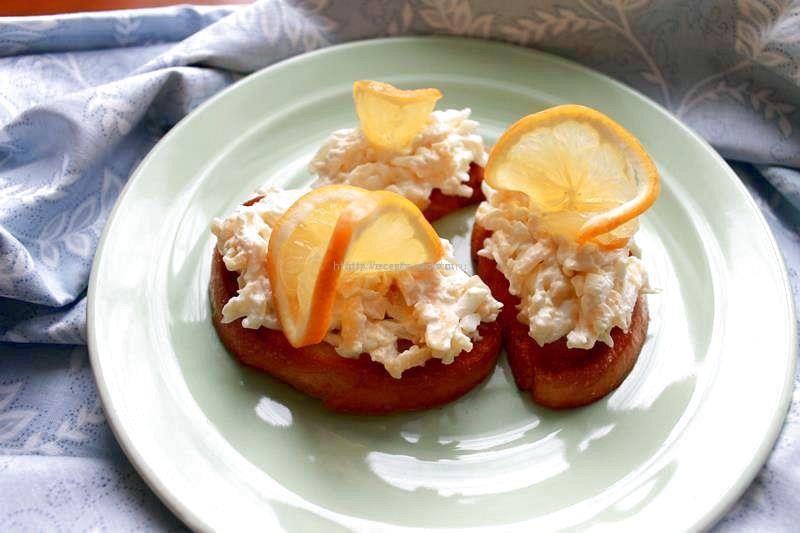 Бутерброды с сыром и яйцом «Магнолия»