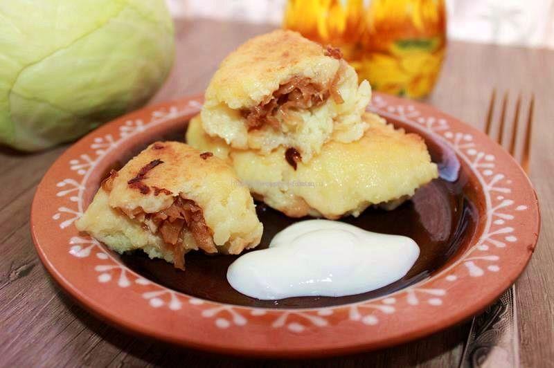 Пирожки с яйцами и картошкой