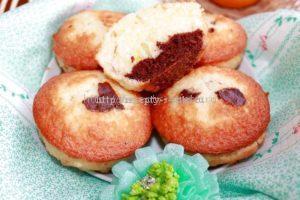 Готовые кексы с шоколадом