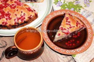 Готовый очень вкусный пирог
