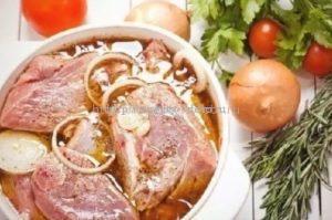 быстрые маринады для свинины, курицы и говядины