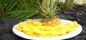 блюдо из ананаса