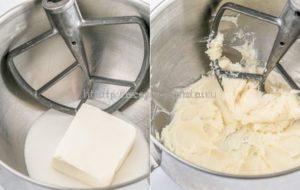 Взбиваем сыр с сахаром