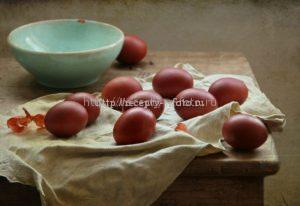 Яичная шелуха для окрашивания яиц