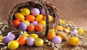Значения цвета яиц на пасху