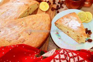 Пирог с цитрусом