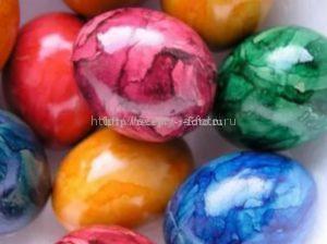 Необычная окраска яиц