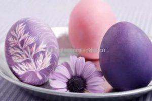 Окраска яиц свекольным соком