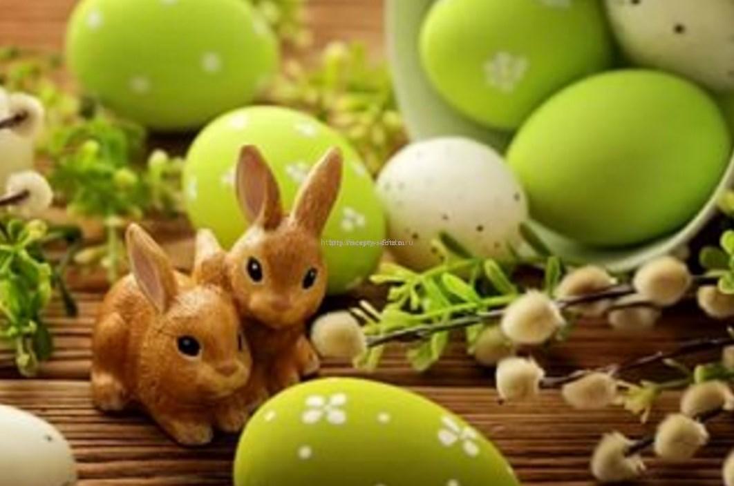 кролик символы пасхи
