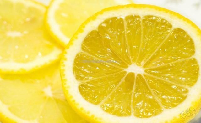 Лимон для рыбного маринада