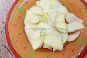 Мягкие яблоки для формирования роз
