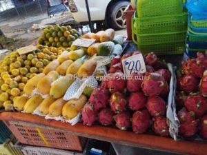 продажа фруктов на Шриланке