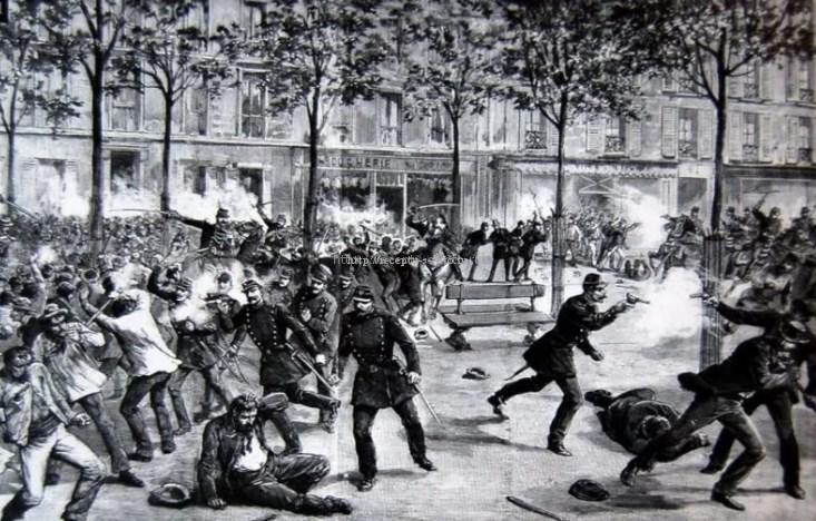Разгон протестующих на 1 мая
