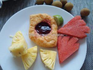Ананасы на завтрак