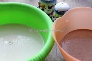 Тесто для блинов разных цветов