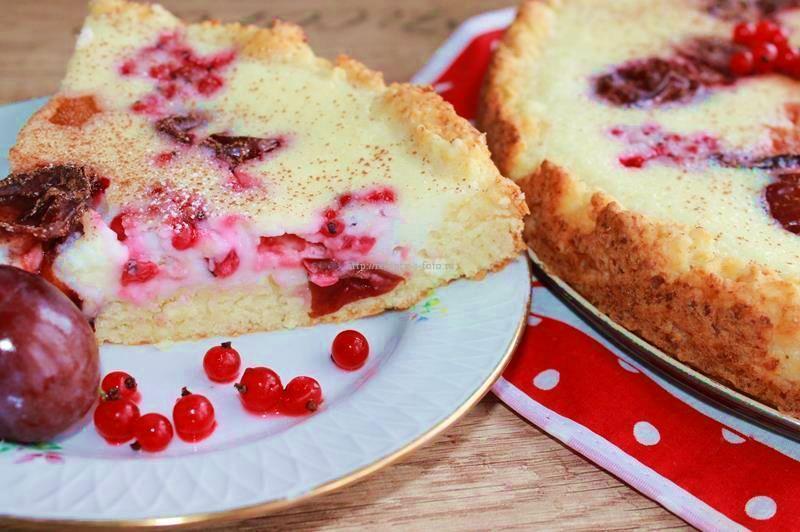 Пирог с красной смородиной «Императрица»