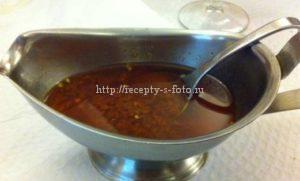 рецепт соуса чурусако