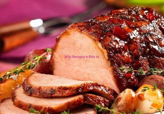 Рецепт буженины из свинины Домашняя буженина