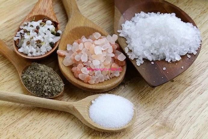 различные виды соли
