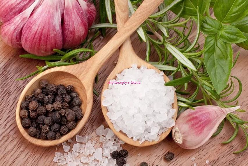 виды и разновидности соли и перца