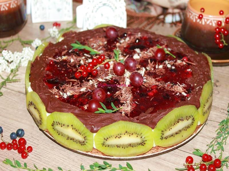 фото торт без мастики