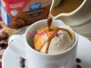 кофейное мороженное