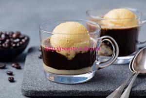 мороженное с кофе