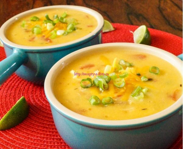 Сырный суп: рецепт с фото