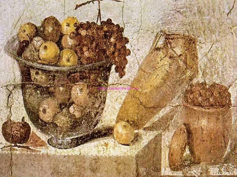 фрески с изображением груши