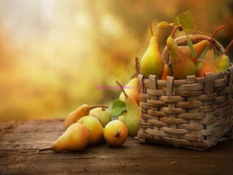 фрукты в карзине