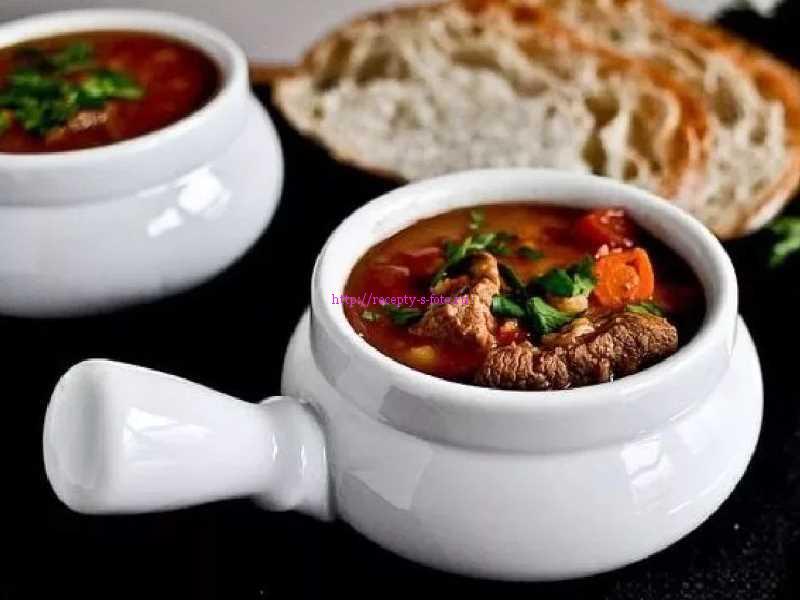 суп в казане