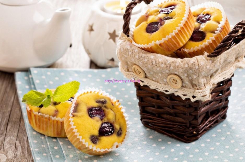 десерт с виноградом