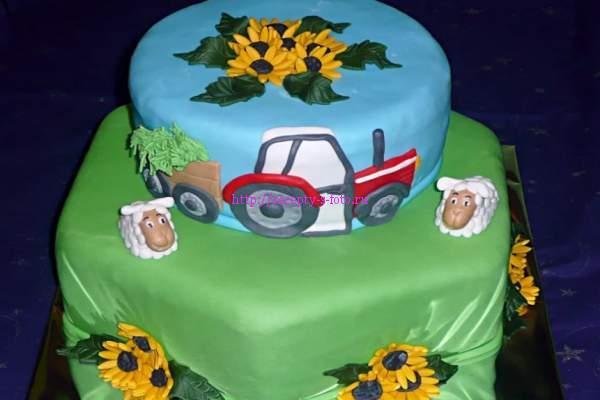 интересный вариант торта
