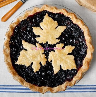 пирог виноградный
