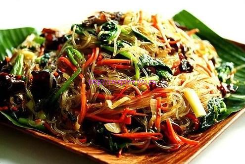 Чапчхэ закуска из Кореи