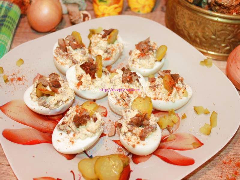 яйца фаршированые