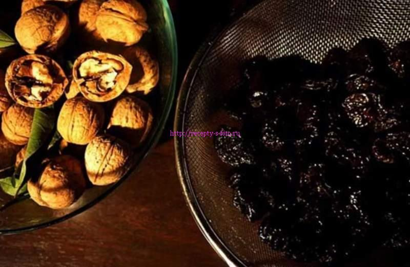 чернослив в десертах
