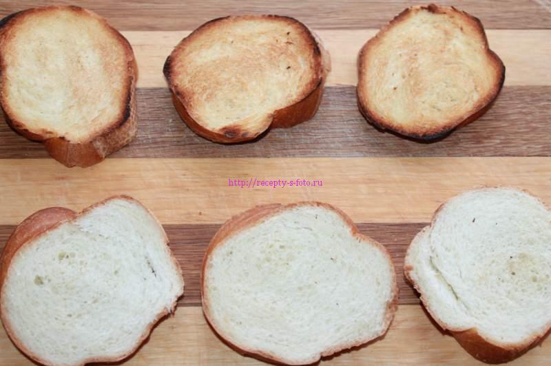 хлеб подсушить