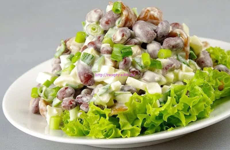 салаты с сыром