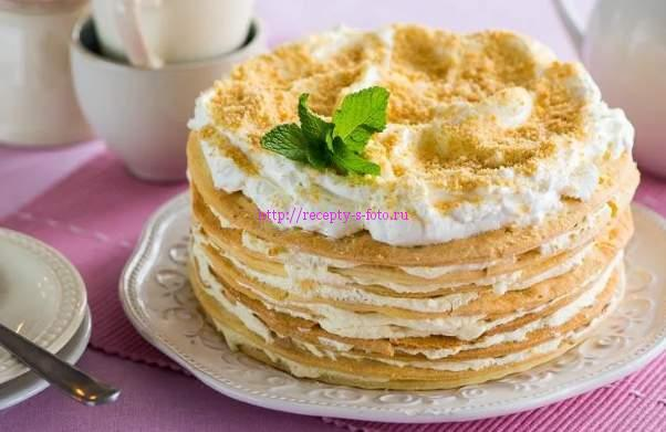 разновидности тортов наполеон