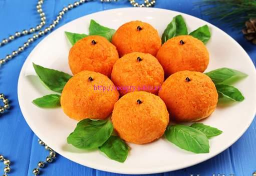 закуска мандаринки