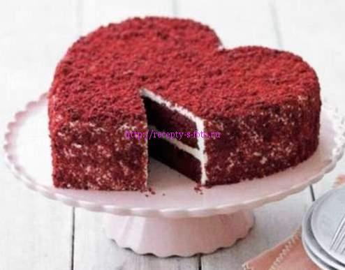 декор для торта в форме сердца