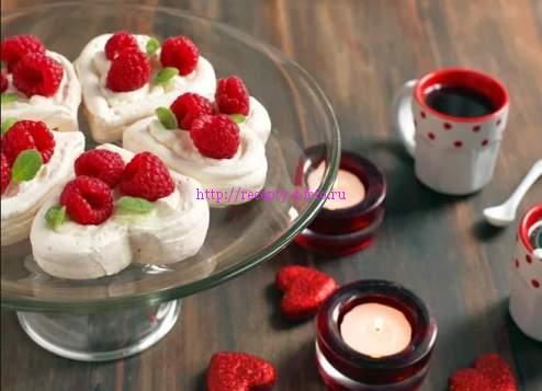 Десерт на день влюбленных