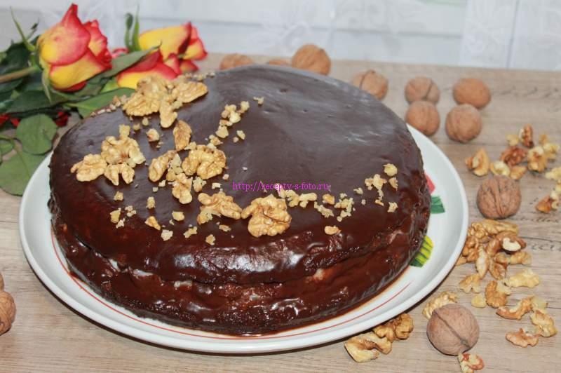 орехи на торт