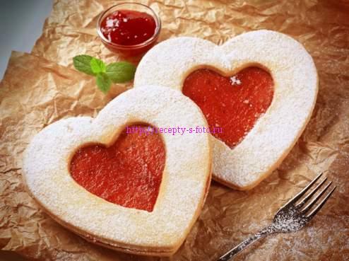 печение сердечки