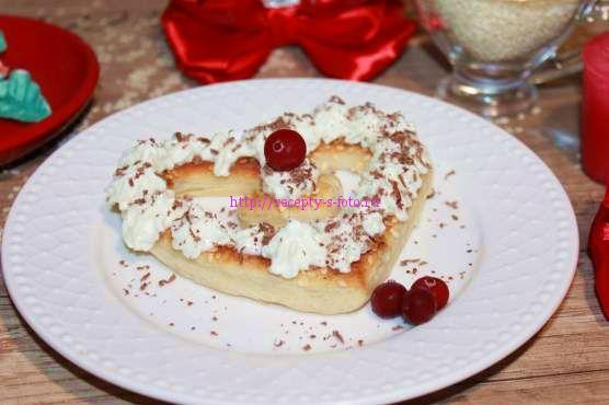 Пирожное на 14 февраля