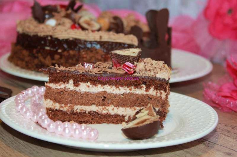 кусочек торта прага