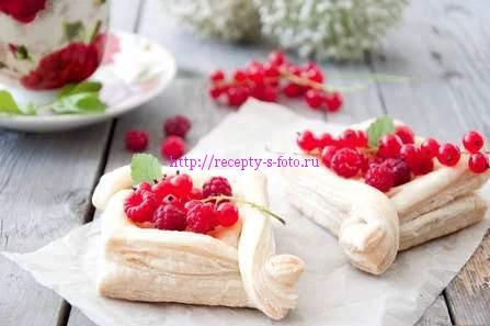 десерт сердечки