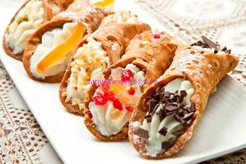 Канолли – рецепт итальянских сладостей